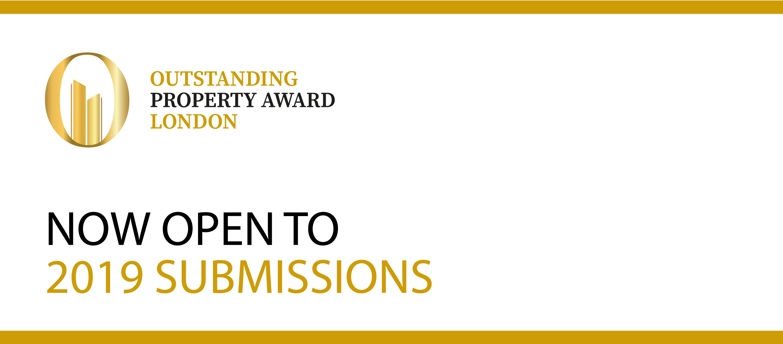 Outstanding Property Award London now open to submissions