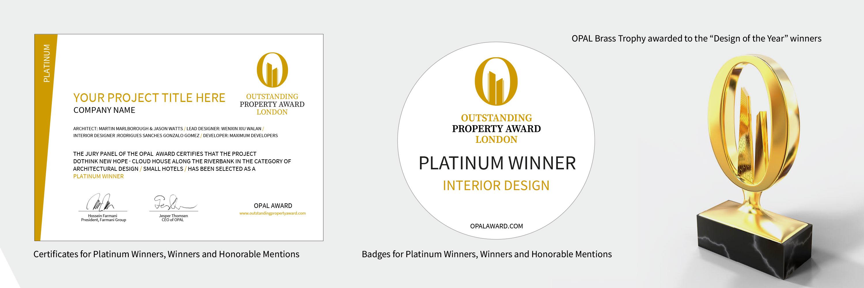 OPAL Award winner benefits