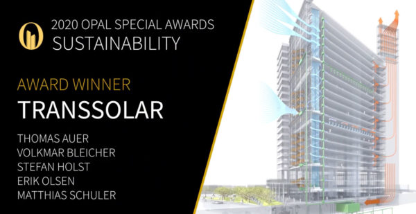 OPAL Special Award Transsolar